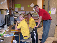 Maple-Willow-Larch Desk Staff