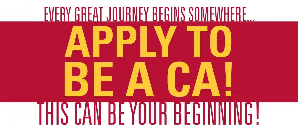 Apply to be a CA!